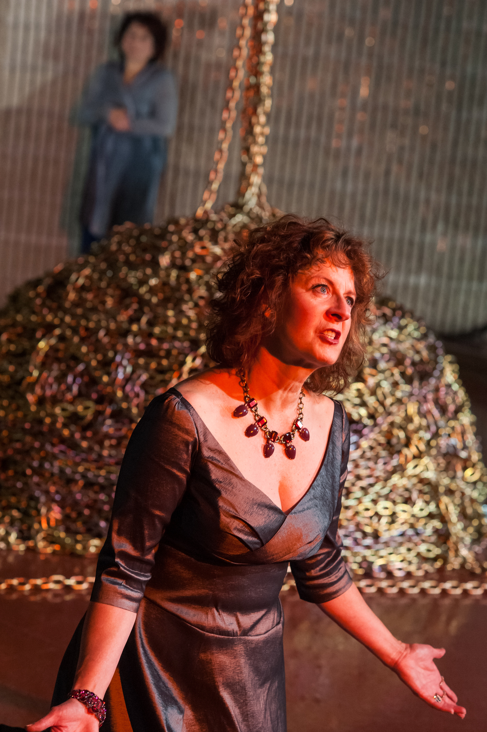 Bobbie Steinbach and Paula Plum in  Phèdre . Photo: Stratton McCrady