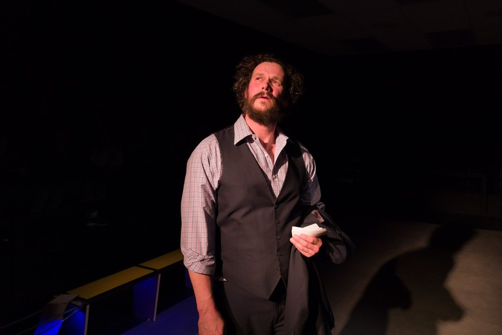 Anthony Goes in Walt McGough's  Brawler  at the Kitchen Theatre Company, directed by M. Bevin O'Gara. Photo: Dave Burbank