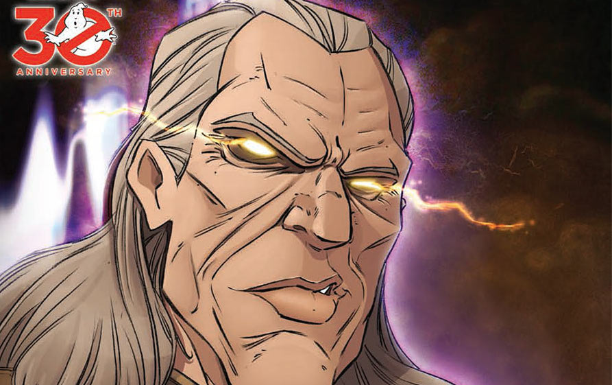 Only two men are capable of making the curled lip look handsome, and Vigo the Carpathian probably isn't one of them... (Courtesy IDW Publishing)