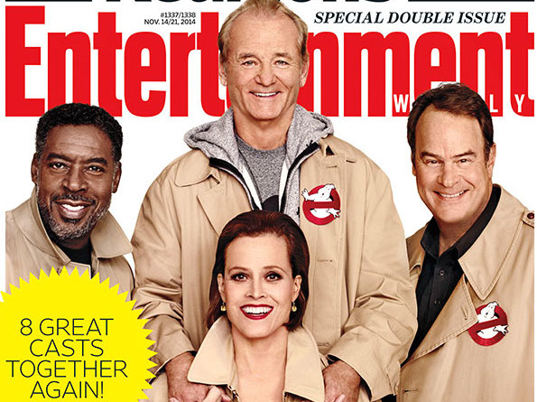 8 casts are together again for Entertainment Weekly, but let's be honest: only one really matters, right?