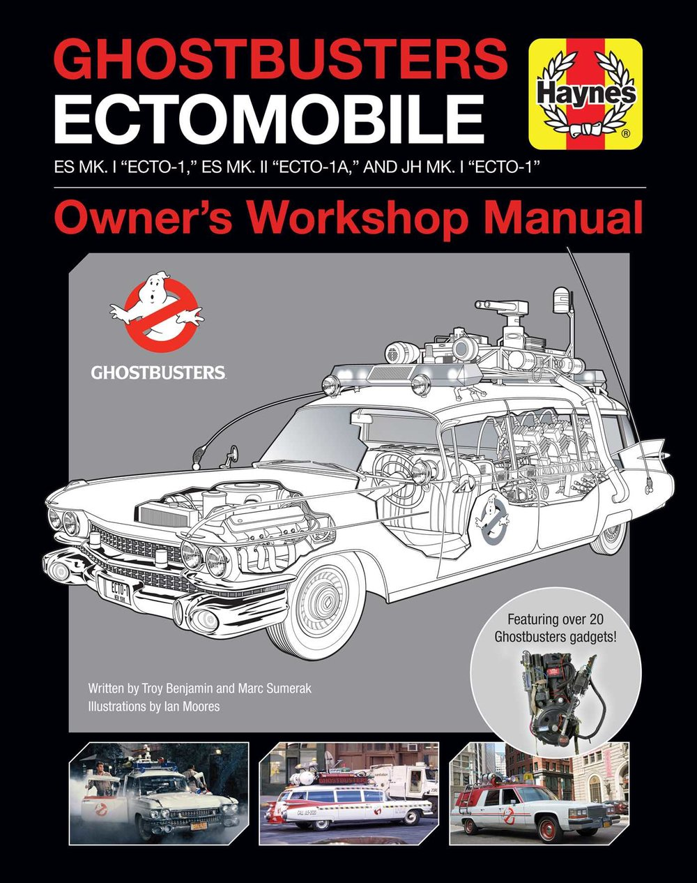 Ghostbusters Ectomobile - Owner's Workshop Manual