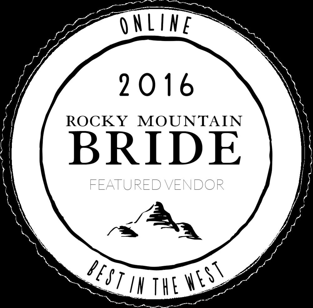 Rocky Mountain Bride Vendor Badge