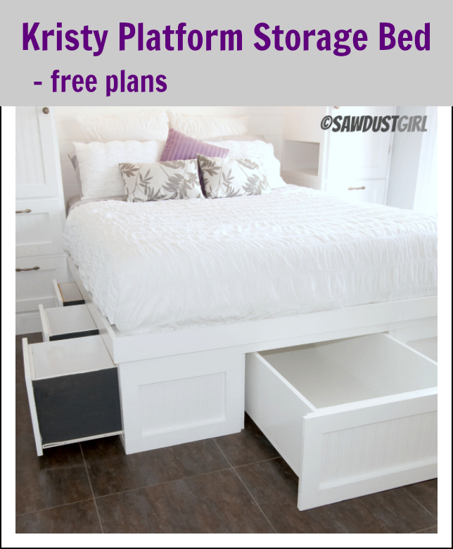 DIY STORAGE BED OPTIONS  sc 1 st  Sweet Dottie Design & DIY STORAGE BED OPTIONS u2014 Sweet Dottie Design