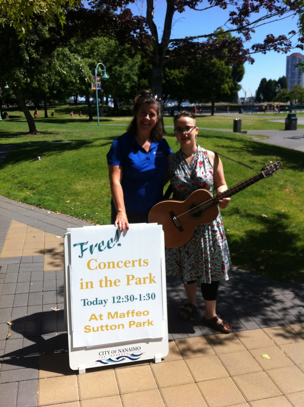 Thanks Nanaimo concert series!!! What a great afternoon  - Maffeo Sutton Park, Nanaimo