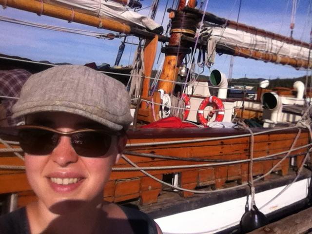 Tall Ship!  - Port Hardy, BC