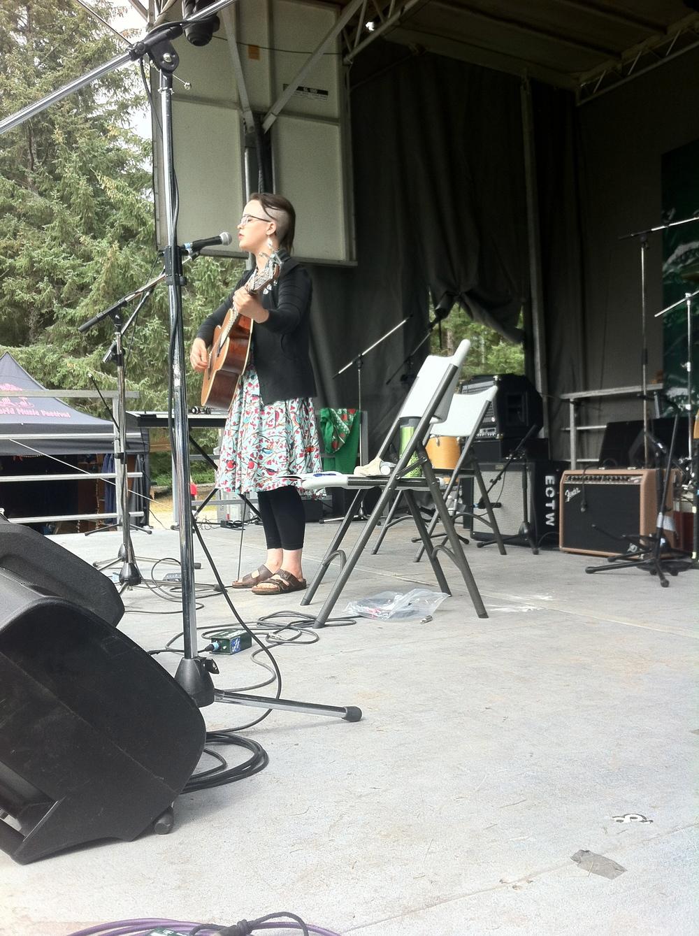 Edge of the World Festival, Mainstage  - Haida Gwaii, BC