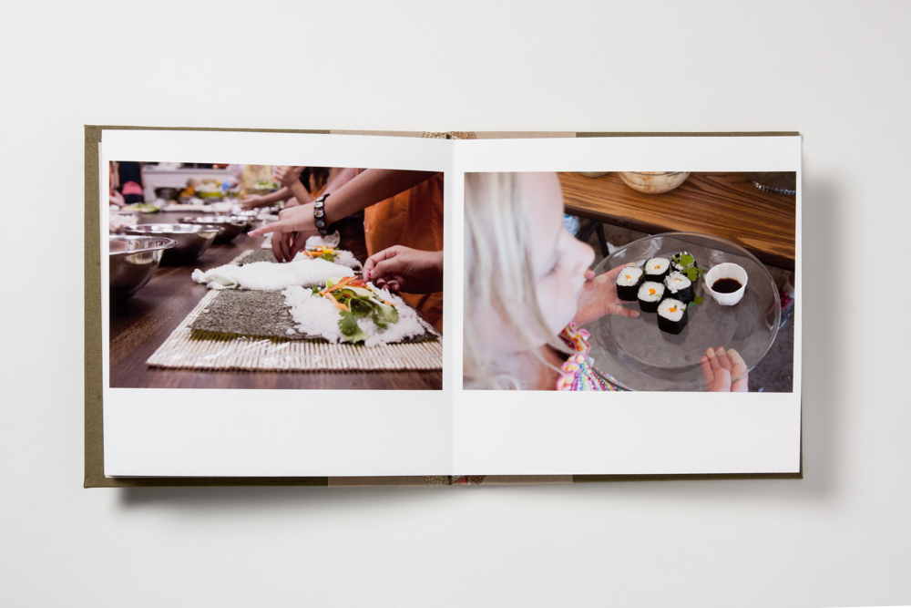 This spread got so much sweeter when the best images were really showcased.