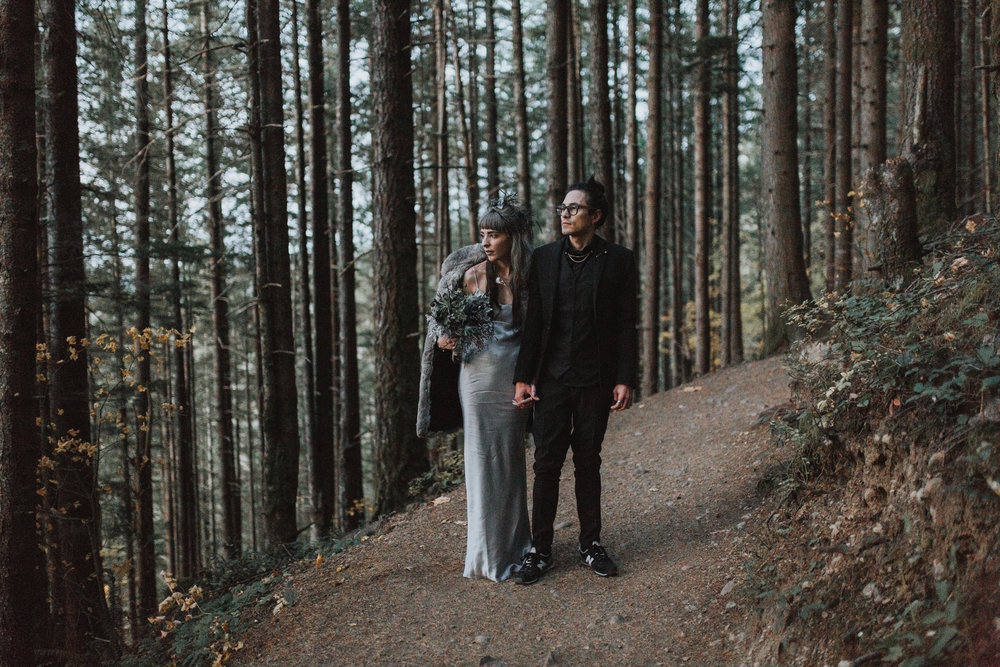 Rattlesnake Ledge Elopement Seattle Photography