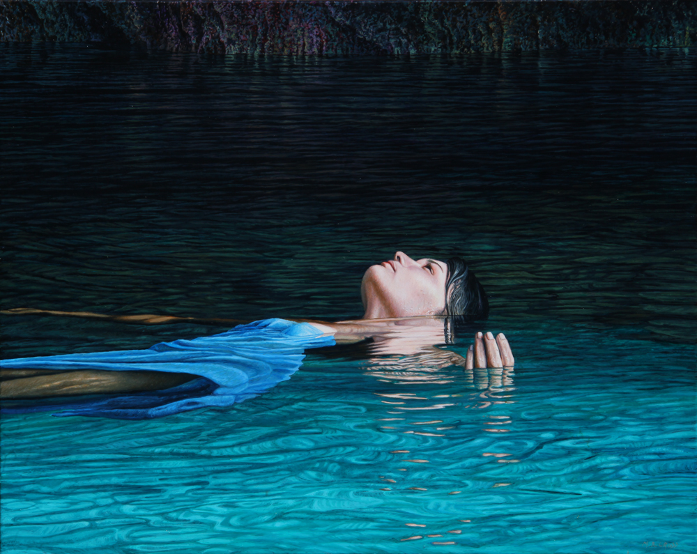 Cave Muse, 2011 Oil on canvas 610 x 760 mm