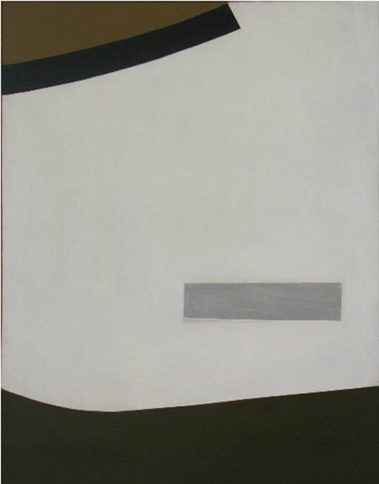 Sangro Series,  1961  acrylic on canvas, 1000 x 900 mm  SOLD