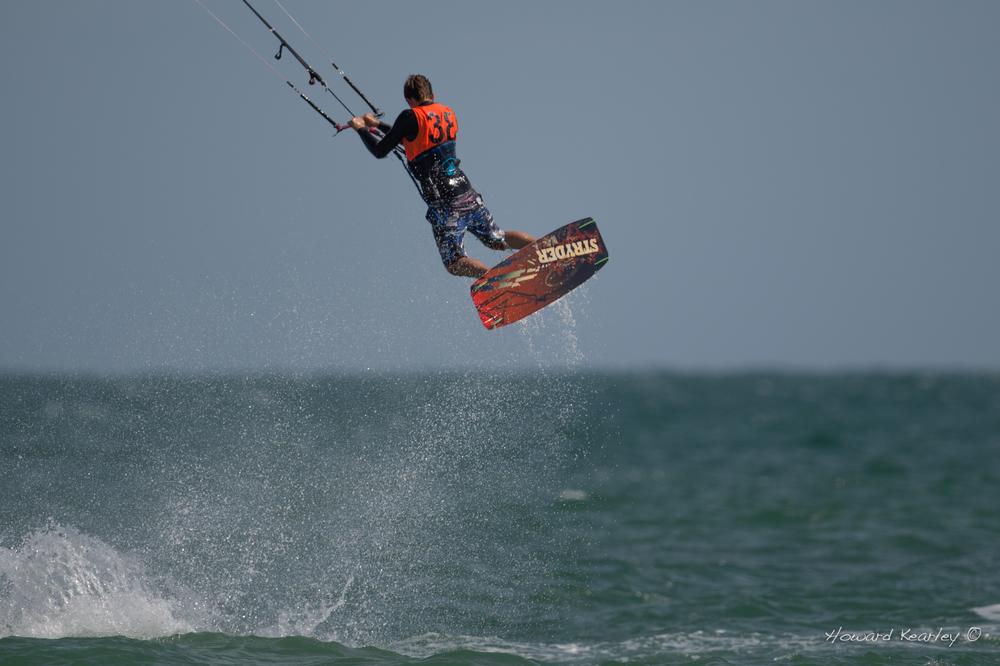 Rider: Ben Archer. Photo: Howard Kearley