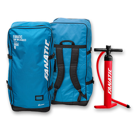2018 Fanatic Pure Air Inflatable SUP Board Back Pack and Pump supplied