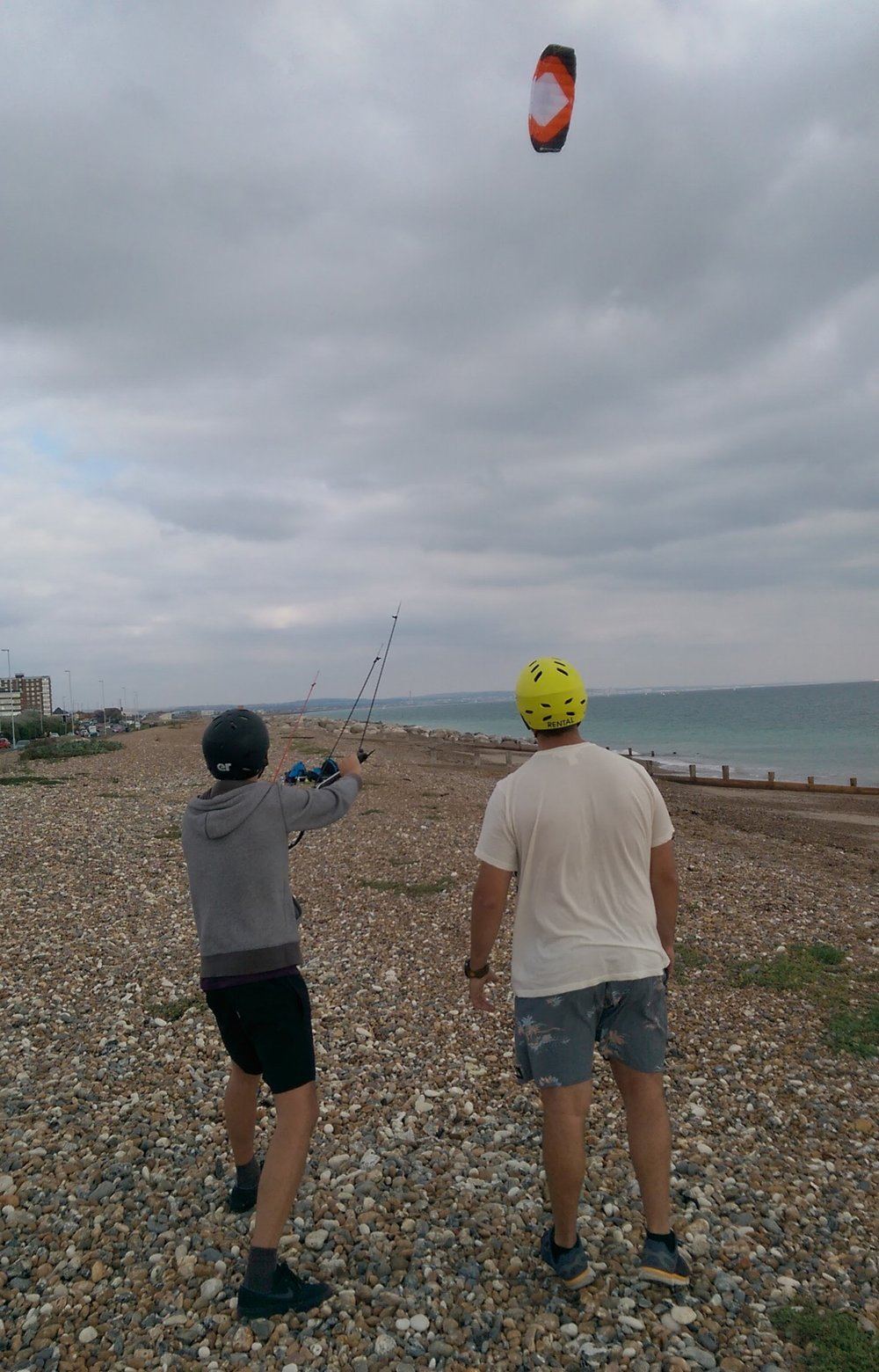 Flying The Peter Lynn Trainer Power Kite