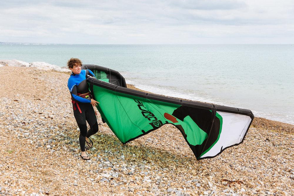 Christine Johnston, The KiTE SURF & SUP Co (photo: Radek Bayek)