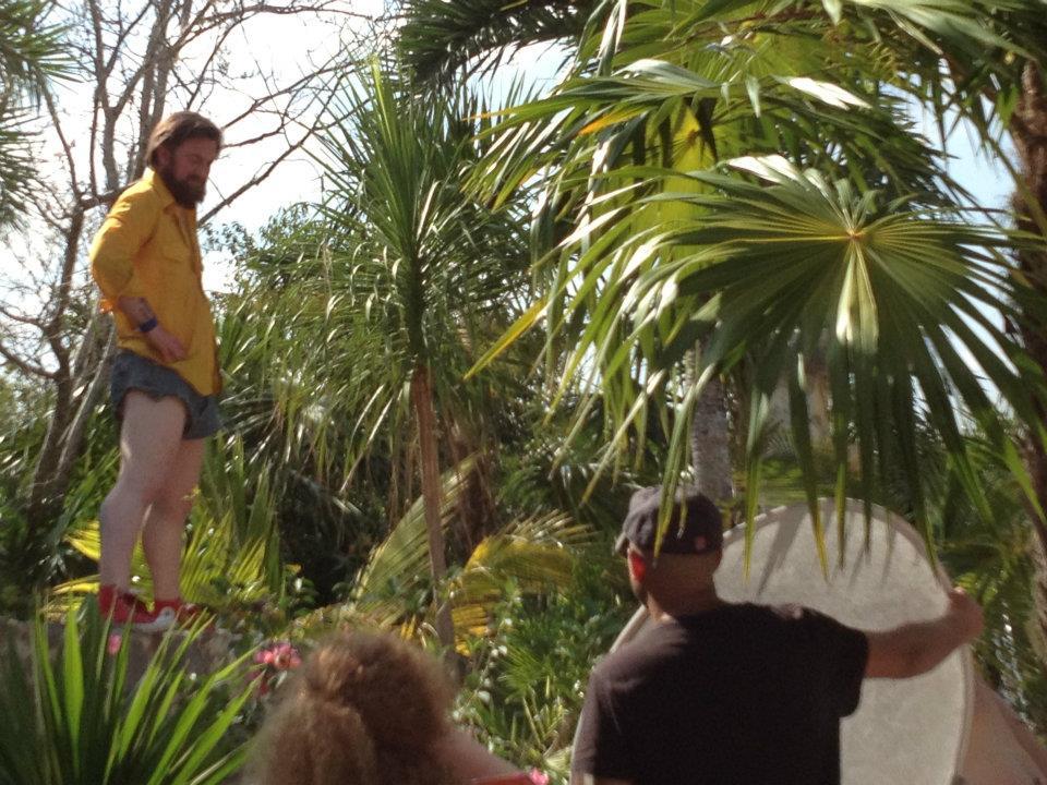 "Filming of ""Sonny"" Akumal, Mexico"