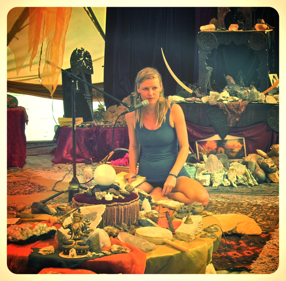 Tapping into Your Soul's Purpose workshop at Once Upon a Festival, Stonyford, CA June, 2015  Read more here....