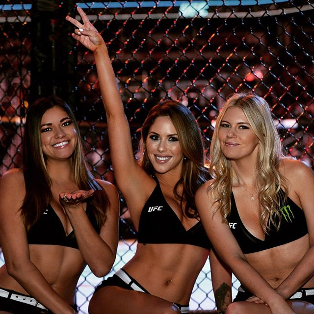 Reunited with these beauties for @ufc fight night on @espn ! #ufc #mma #ufcphoenix
