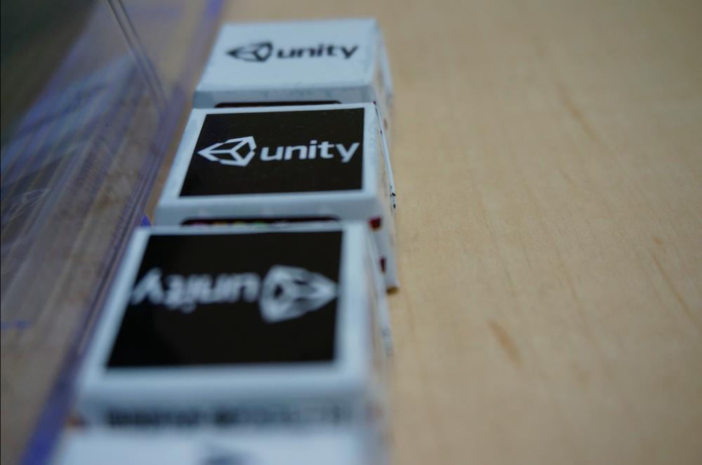 Unity オリジナルチロルチョコです。