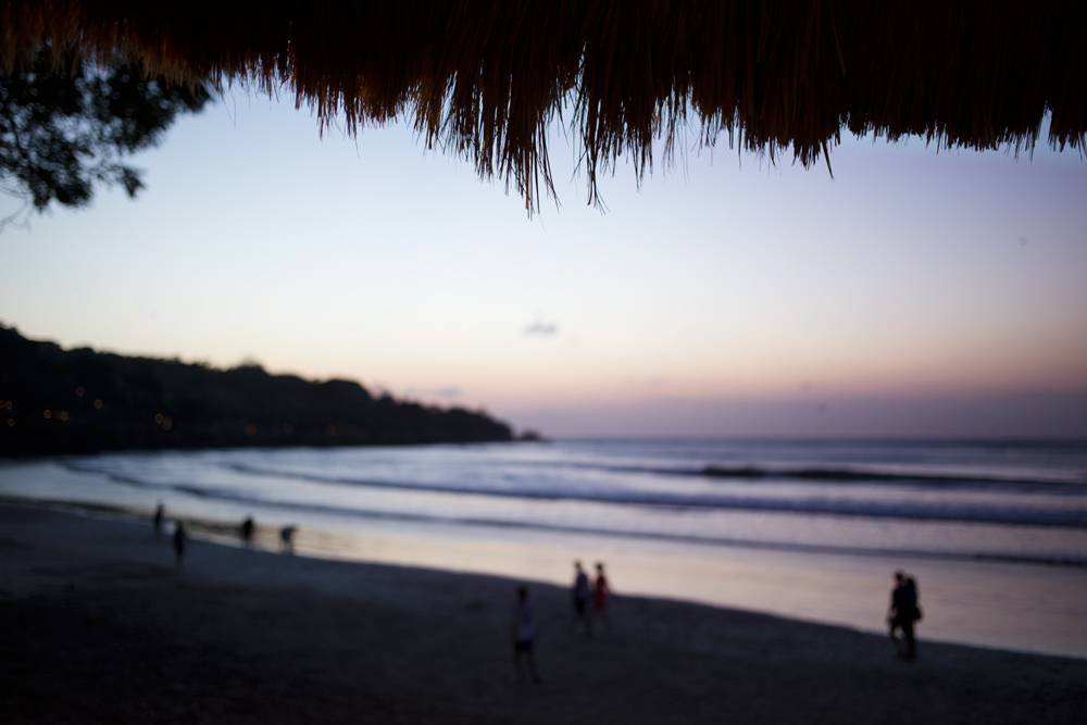 Closing out the day at Echo Beach in Bali