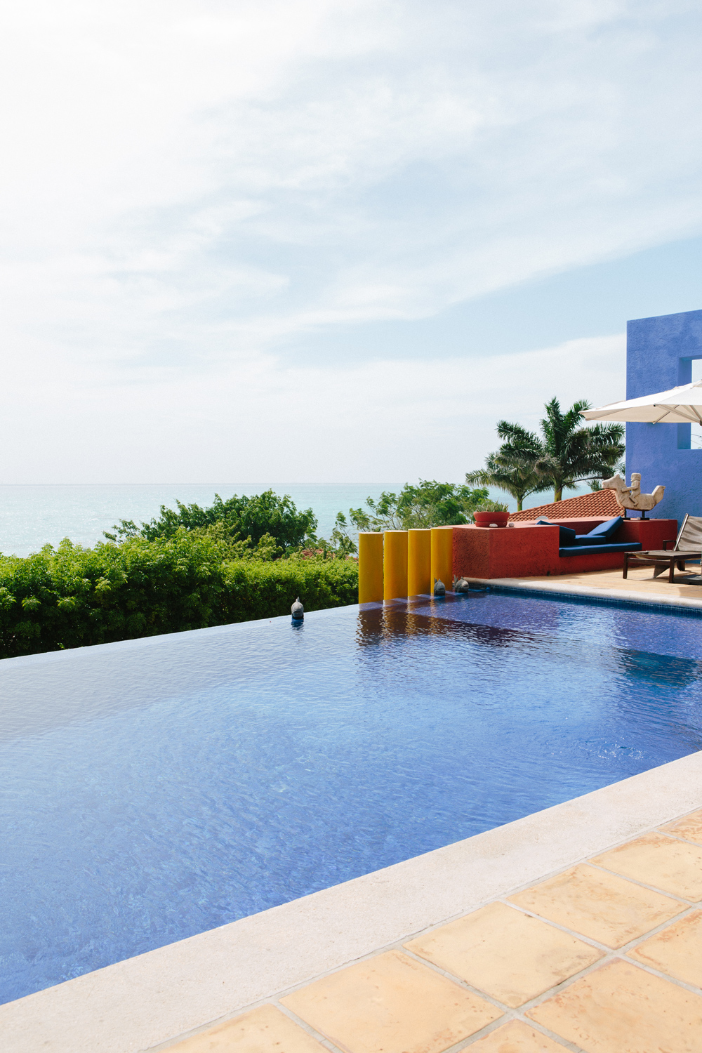 Whats a boutique hotel without an infinity pool?