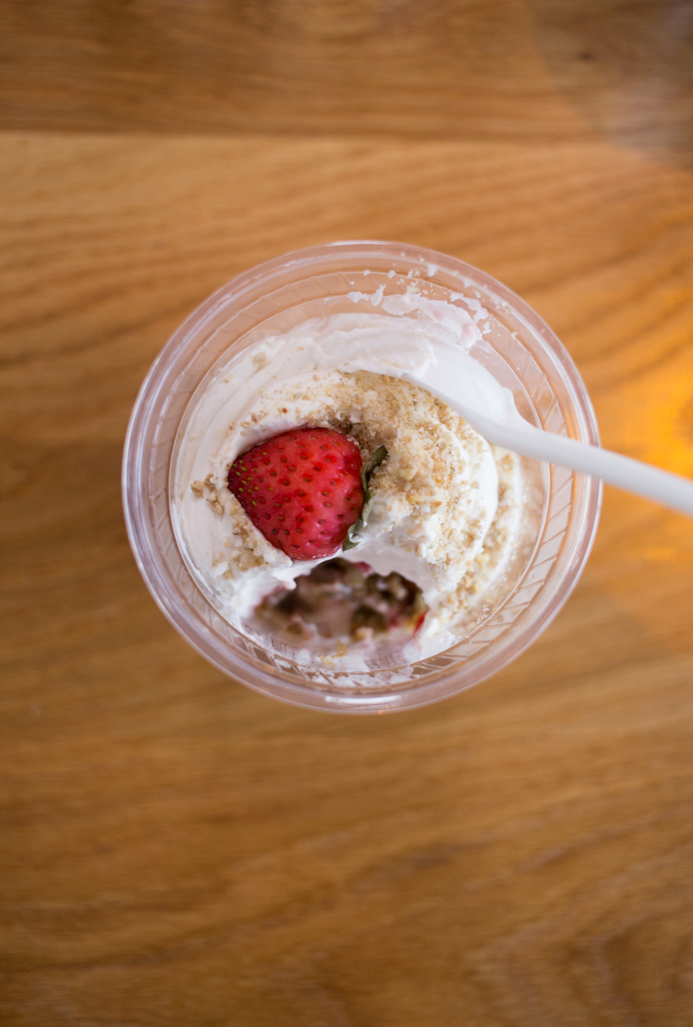 Freshness in a cup.