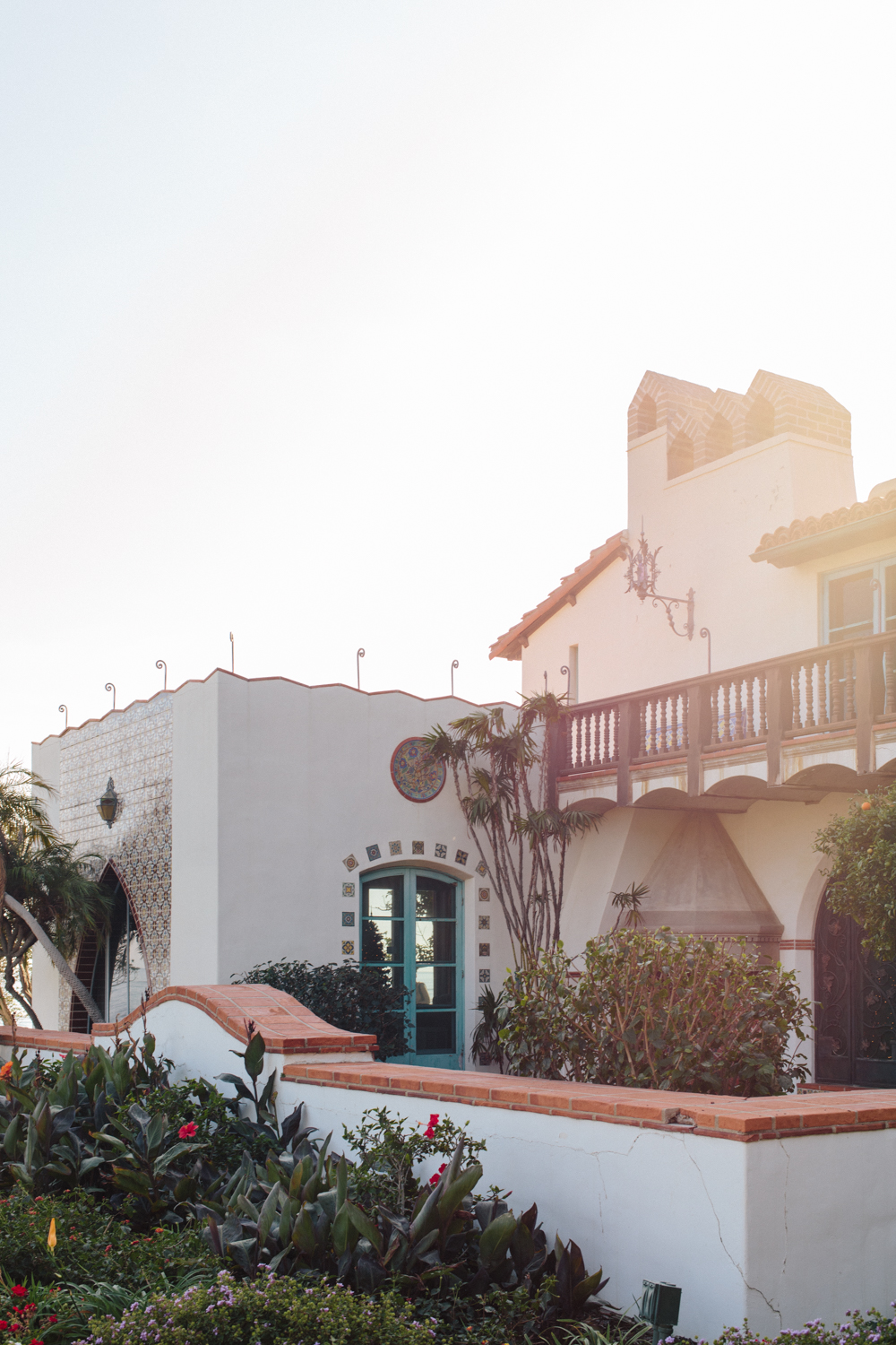 The Spanish Colonial Revival style was embraced by Californians after WWI.
