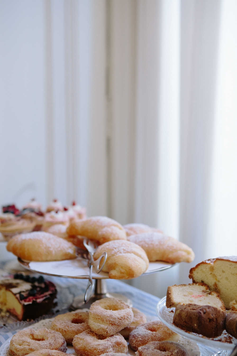 Part of the daily breakfast spread at Maison Tofani, included in the stay