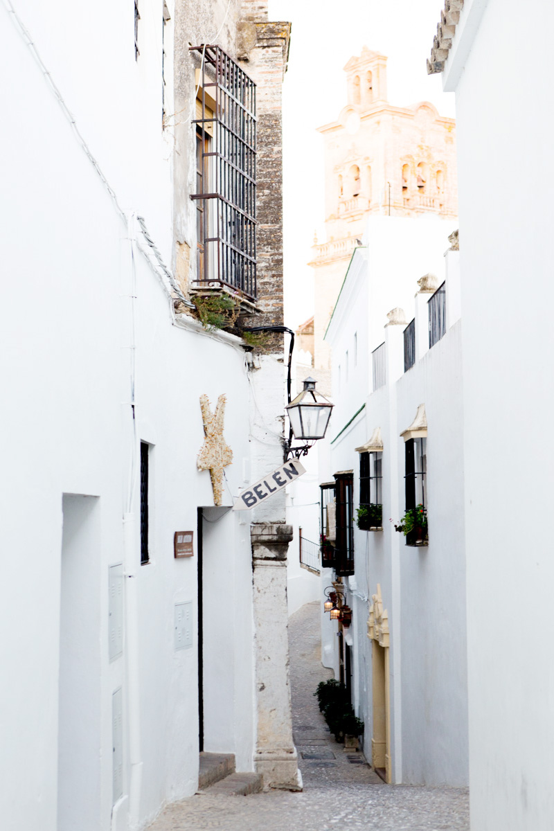 La Casa Grande is located at the end of this picturesque street