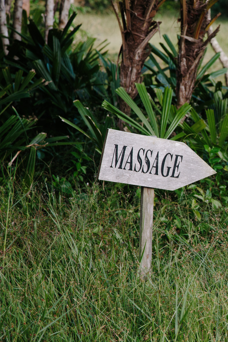 This way for more relaxation.