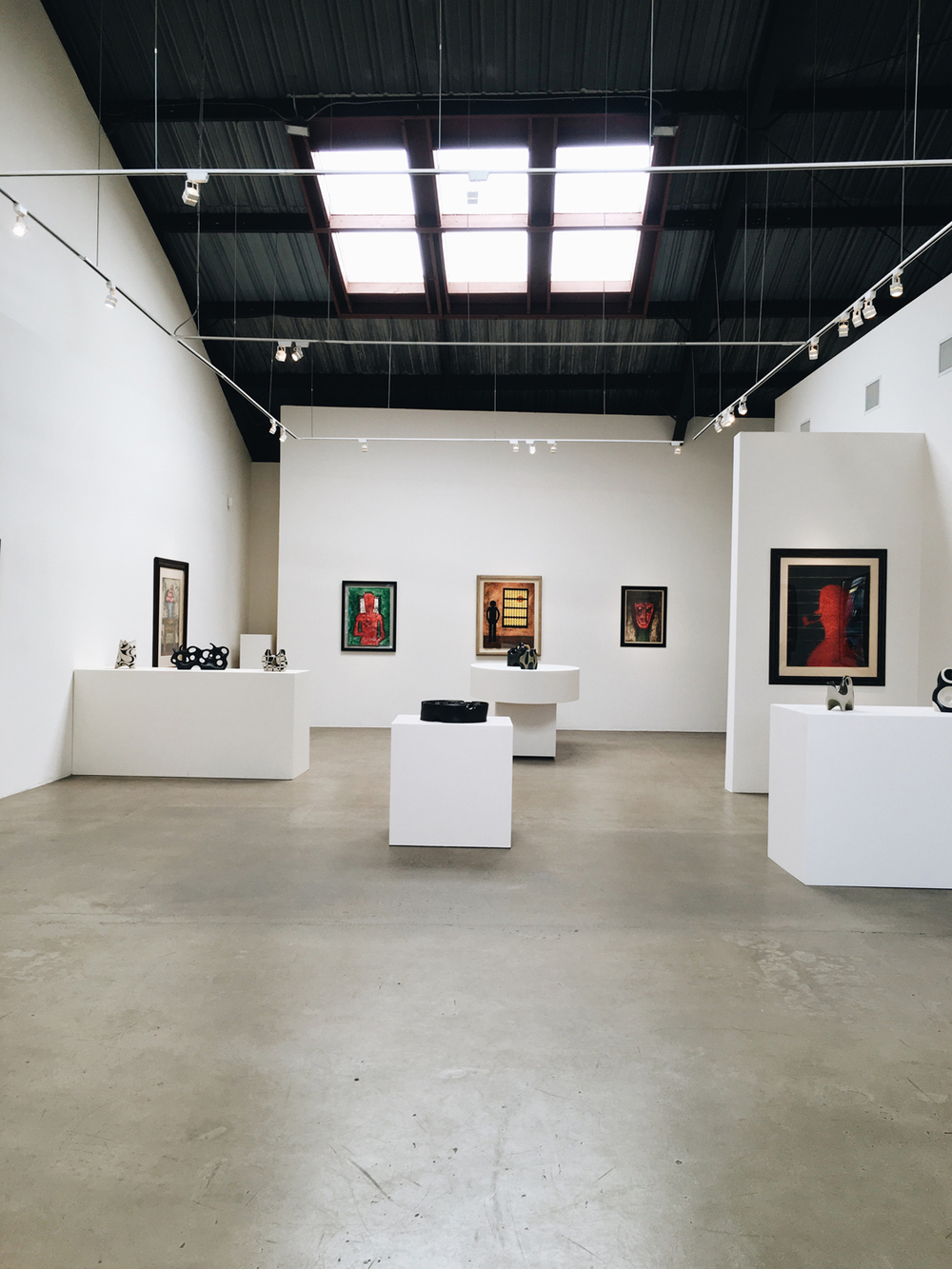 So much light and space at  Latin American Masters Gallery