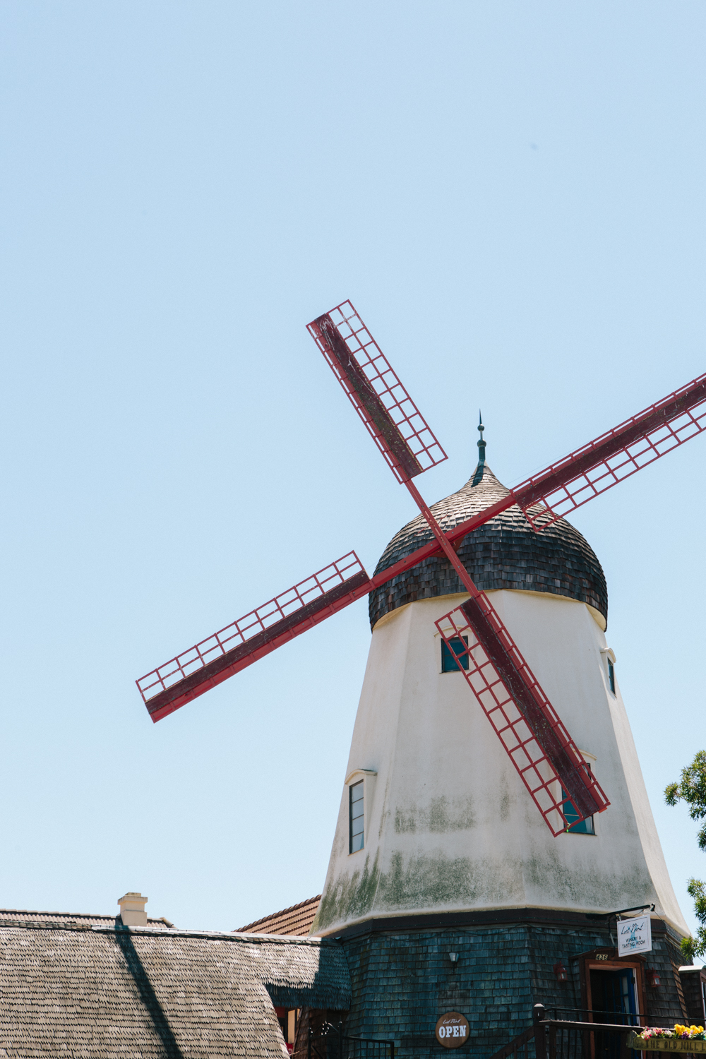 One of the signature Solvang landmarks.