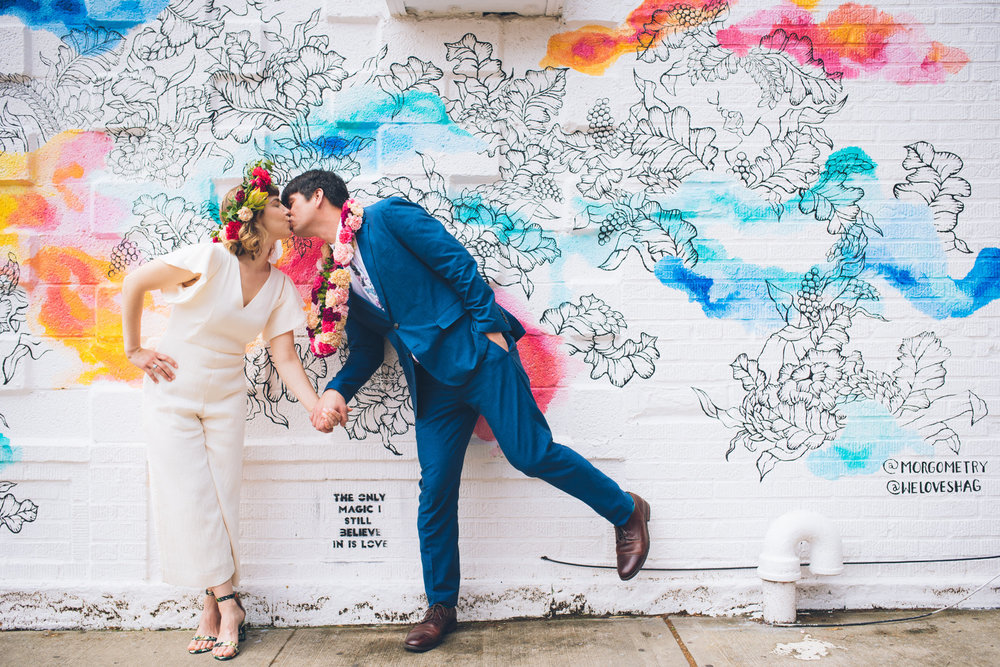 Hallie + Andy 2018/ Brooklyn NY . Photo Credit:    Sascha Reinking Photography