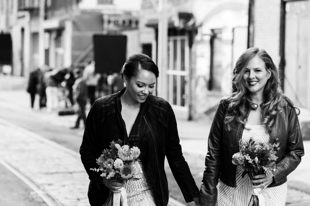 Liz + Ali 2018 / Brooklyn NY. Photo Credit: Eryc Perez de Tagle , Wilde Scout Photo