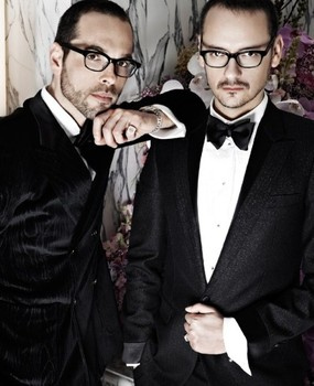Fashion Designers Viktor & Rolf