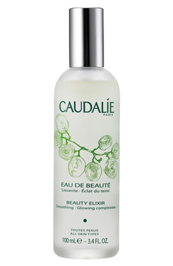 Part-toner, part-serum...this plant active facial mist is great for cooling you down and helping your skin. The Caudalie Beauty Elixir is a convenient mini facial in a bottle. It tightens pores smooths skin, promotes microcirculation and gives an amazing glow to the skin.