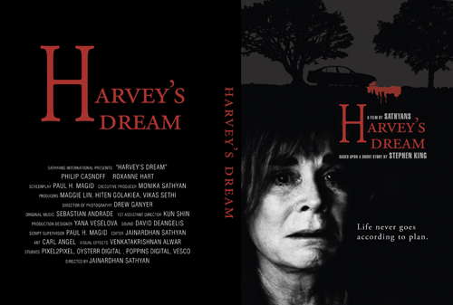 DVD cover for  Harvey's Dream