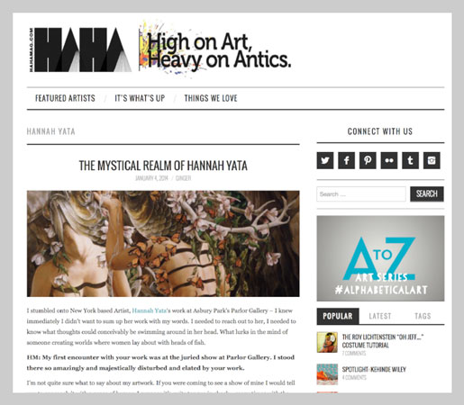 HAHA Magazine