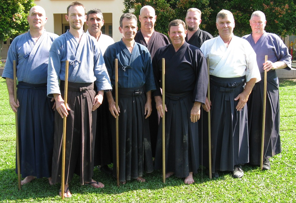 The Australian contingent at the International Jodo Gasshuku in Malaysia.
