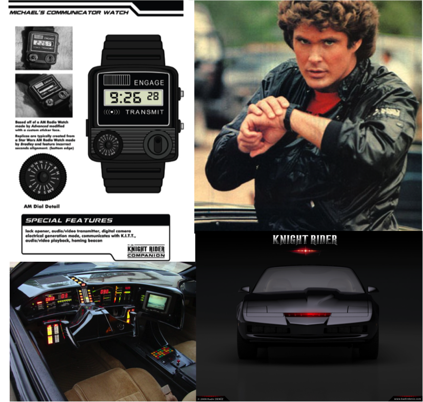 Knight Rider and KITT
