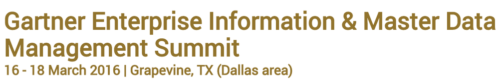 Reltio Gartner EIM MDM Summit