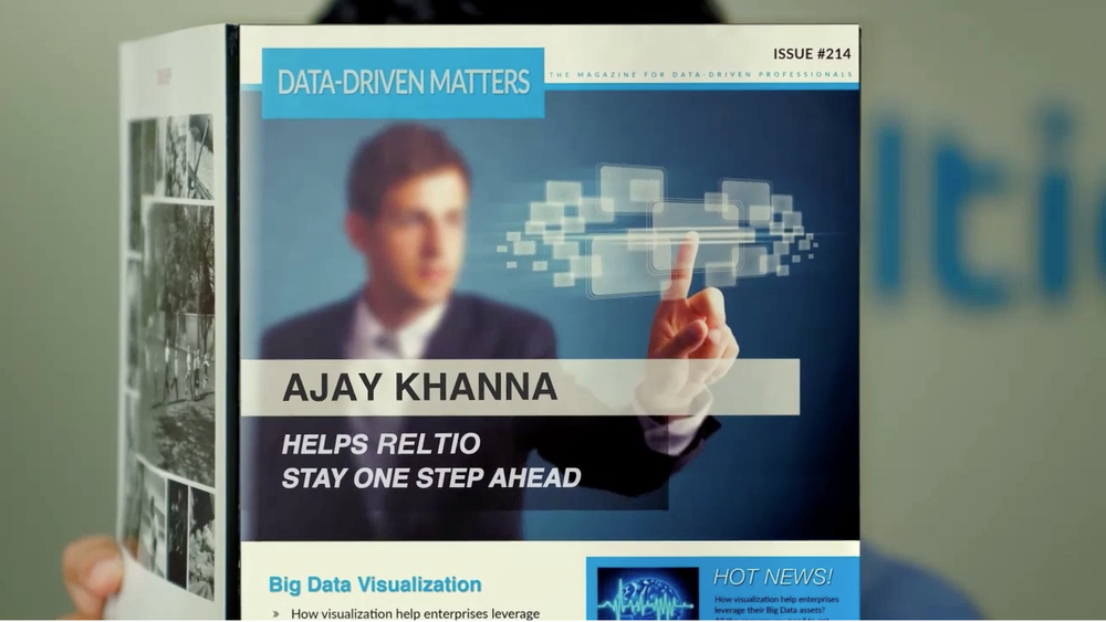 Reltio Personalized Insights Video featuring Ajay Khanna
