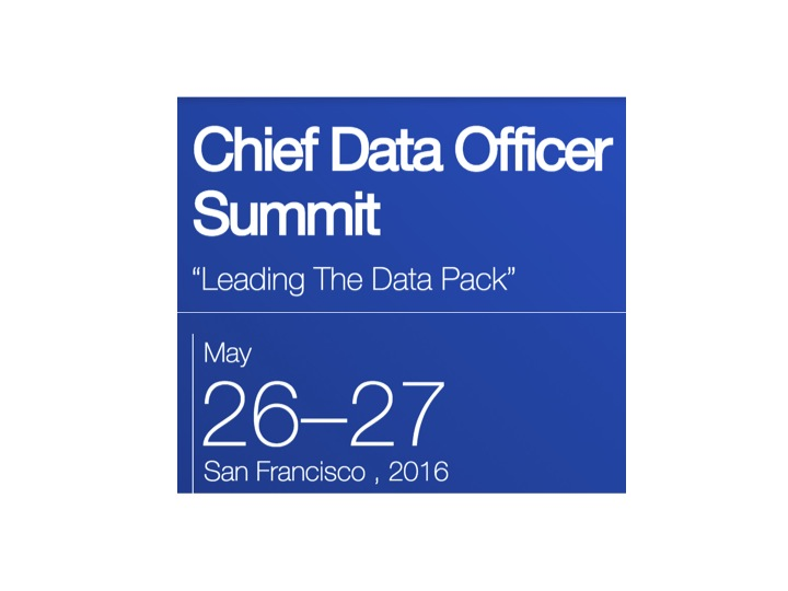 IE CDO Summit San Francisco 2016