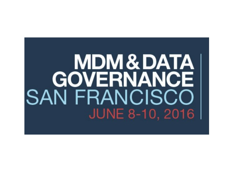 Reltio at MDM Summit SF