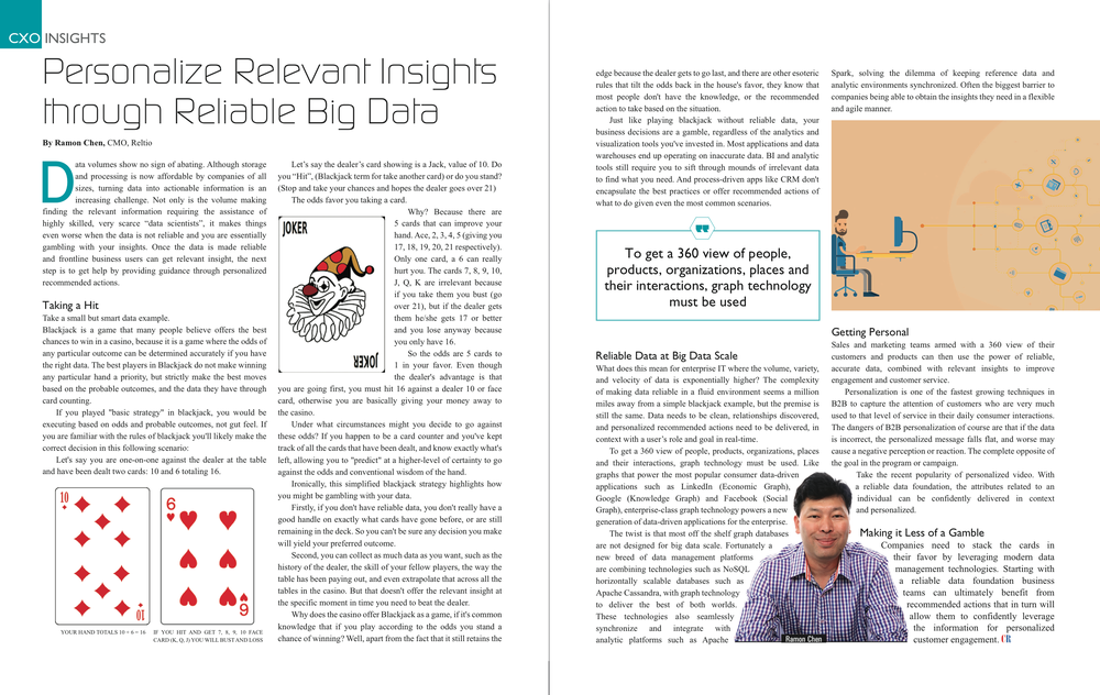 Reltio CMO Ramon Chen Personalize Relevant Insights through Reliable Big Data