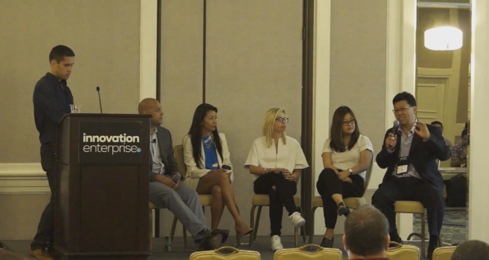 Ramon Chen CMO presents at the digital strategy panel on omni-channal marketing