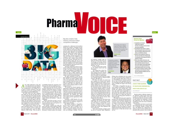 Reltio CMO Ramon Chen in PharmaVoice March 2017