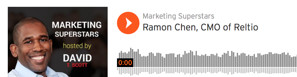 Listen to why CMO's shouldn't be intimidated by technology,  and how a Reliable Data foundation is a must for personalized marketing