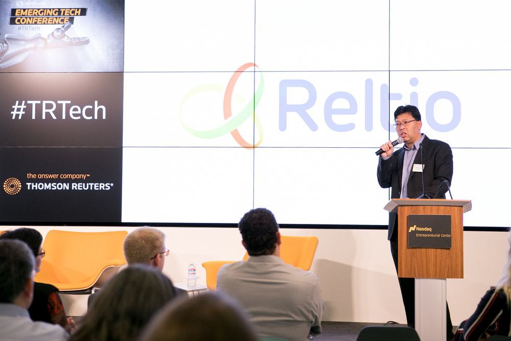 Reltio at the NASDAQ Entrepreneurial Center
