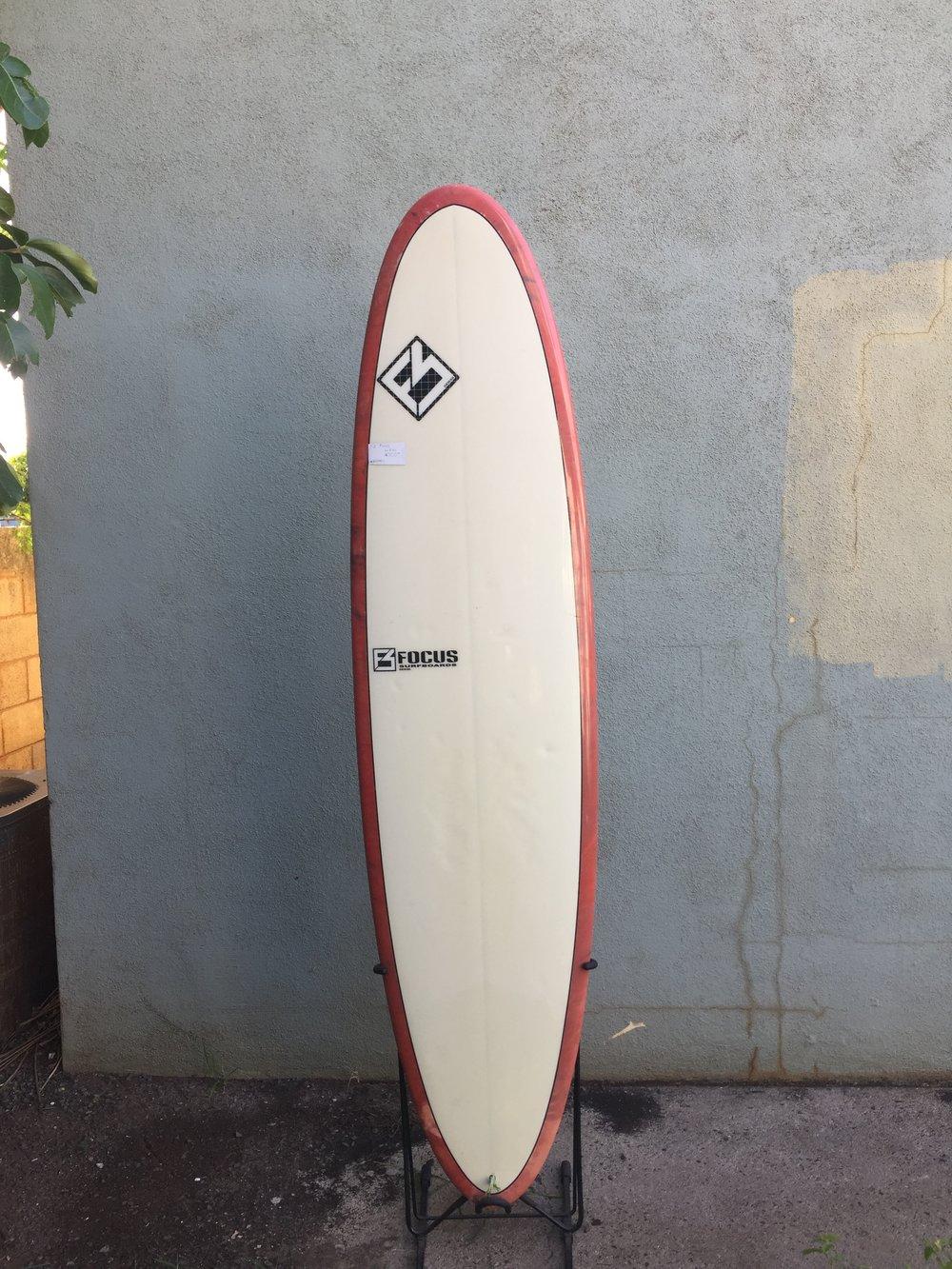"""7'2"""" Focus longboard - $500"""