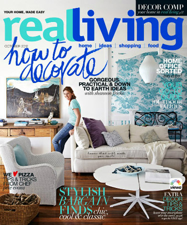 Real Living - October 2012